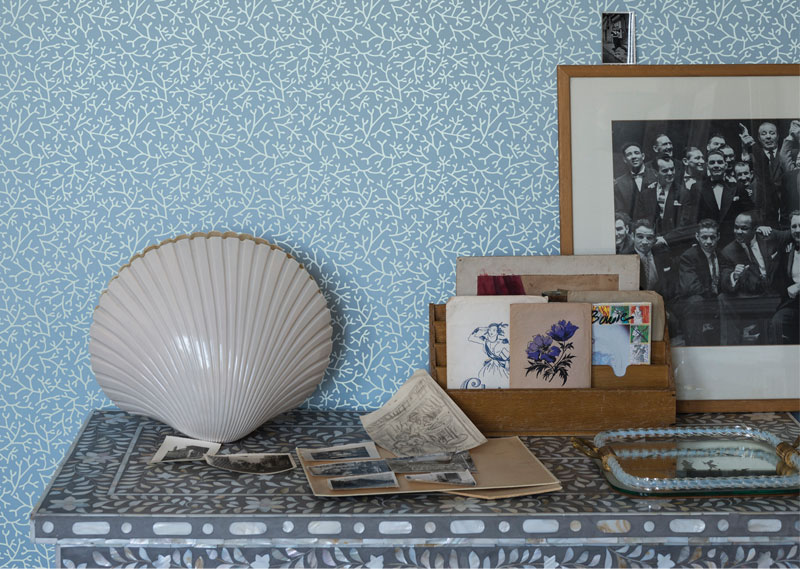 Samphire wallpaper from Farrow and Ball
