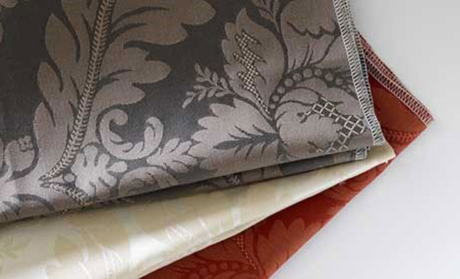 Damask Fabric, Limoges by Northcroft Fabrics